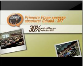 Cena do comercial que vai ao ar na Rede Globo de Tocantins e também estará no canal Terraviva