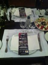No dia 21 de maio as atrações da Feicorte estavam no cardápio do restaurante Rubayat em jantar oferecido para empresários.