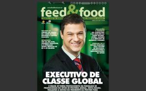 Capa da edição de julho de 2013 com  Adriano Marcon, presidente para América Latina e Ibéria do Grupo Provimi Cargill.