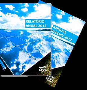 Relatório anual do Grupo CPFL com os resultados do exercício de 2012